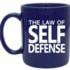Law of Self Defense 11oz Ceramic Mug