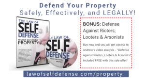 blog defense of property